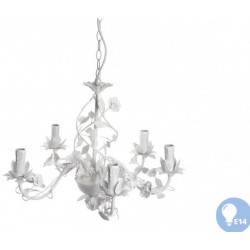 Mennyezeti lámpa, fém, 55x41,5cm  fehér