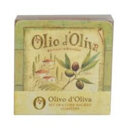 Parafa poháralátét - Olio d'Oliva