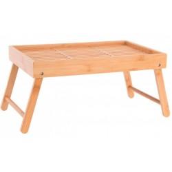 Bambusz ágy tálca, 40X25X4,5cm