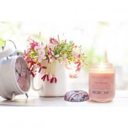 Kis Üveggyertya Heart&Home - Rózsaszín Álom