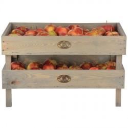 Fa Zöldség-gyümölcs tároló kicsi