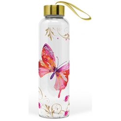 Üvegflaska 550ml, Pretty Butterfly
