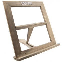 Fa asztali szakácskönyvtartó 28x30cm