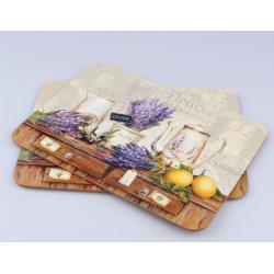 arafa tányéralátét 2db-os 21x29cm, Levendulás-citromos