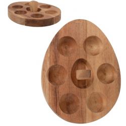 Akácfa tojástartó állvány 6 db-os
