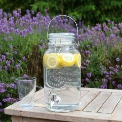 Limonádés üveg, csatos tetővel 3,6 literes