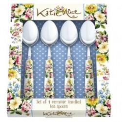 4 db-os teáskanál szett - English Garden(Katie Alice)