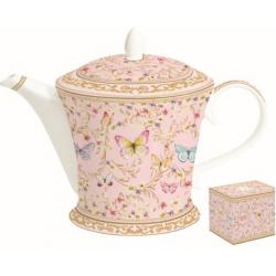 Porcelán teáskanna 1000ml, Varázslatos Pillangók