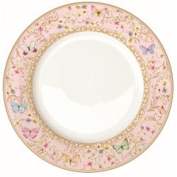 Porcelán tányér, 27cm, Varászlatos Pillangók