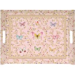 Melamine tálca 52x37cm, Varázslatos Pillangók
