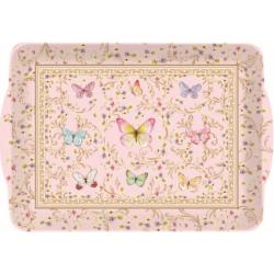 Melamine tálca 46x32cm, Varázslatos Pillangók