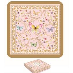 Parafa poháralátét 6db-os, Varázslatos Pillangók