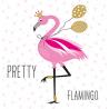 Papírszalvéta 20db-os, 33x33cm, Pretty Flamingo