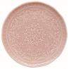Porcelán desszert tányér 19cm, Abitare Chic - Halvány Rózsaszín