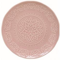Porcelán lapostányér 26,5cm, Abitare Chic