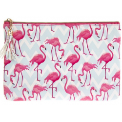 Kozmetikai táska/neszeszer - Flamingó