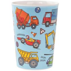Műanyag pohár 8x8x11cm, Autós