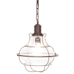 Mennyezeti lámpa, vas, 32*142 cm