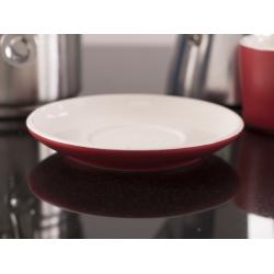 Kerámia kávésalj, piros, 120mm, Barcelona, La Cafetiére