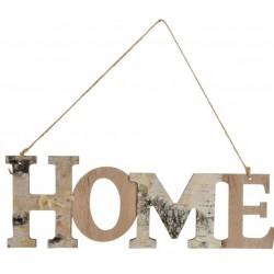 Ajtó / Fali Dekoráció, felakasztható, fa, 32,5X8,5cm , Home