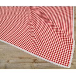 Asztalterítő 100x100cm, 100% pamut, Laura