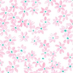 Papírszalvéta fehér 20 db-os, 33x33cm - Pretty in Rose