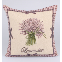 Textil párnahuzat 40x40cm, Lavender