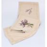 Textil asztali futó 33x140cm, Levendulás