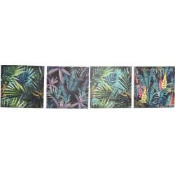 Falikép, festett vászon, 40X240cm - Trópusi, 4féle