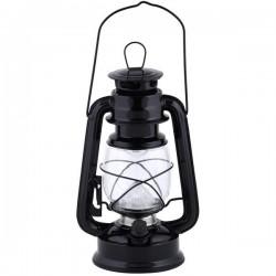 LED viharlámpa, fekete