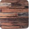 Parafa poháralátét 4db-os, Wood Cabin