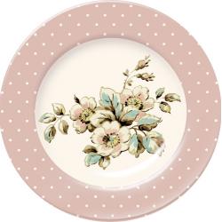 Porcelán desszert tányér - Cottage Flower(Katie Alice)