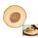 Fa körszelet évgyűrűvel, kínálólap, 35x3cm