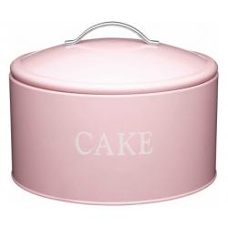 Torta tartó fémdoboz 28,5x18cm