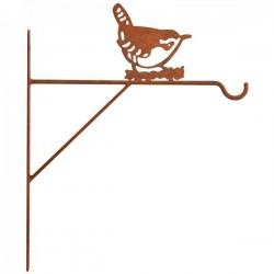 Konzol virágkosárhoz, madaras