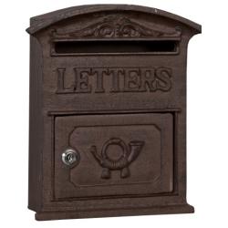 "Fém postaláda 27x9x39cm ""Letters"""