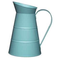 Fém kancsó 2,3l, kék