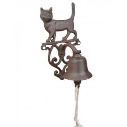 Öntöttvas fali kolomp-macska
