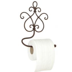 Fali WCpapír-tartó, fém, 17x7x22cm