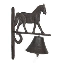 Öntöttvas falikolomp lovas 20x11x27cm