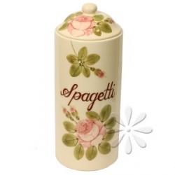 Kerámia Spagetti tároló - Vanilia Kerámia/Romantik rózsás