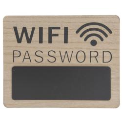 Fatábla 30x1x24cm, Wifi Password