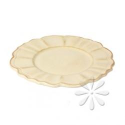 Porcelán desszert tányér - Vanilia Kerámia / Romantik natúr