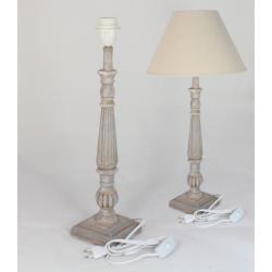 Asztali lámpatest kék antikolással