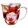 Porcelán bögre 0,4l - Star on candle
