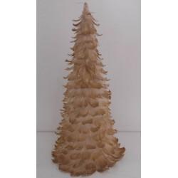 Karácsonyfa dekoráció Tollas 22*46cm
