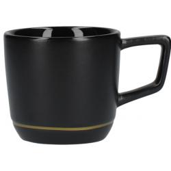 Kerámia kávéscsésze, 75ml, Fekete