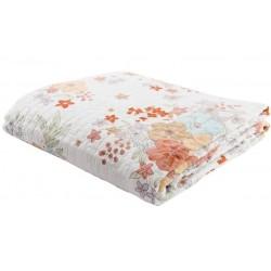 Ágytakaró - virágos (180x260)