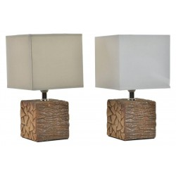 Asztali lámpa, 16x28cm, Rönk mintás
