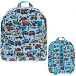 Gyöngyvászon hátizsák 23x10x30cm, Autós